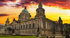 Belfast City Hall in the North