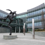 The Dublin-headquarters of AIB – the Government faces a dilemma in weighing up whether or not to sell another tranche of shares in the lender
