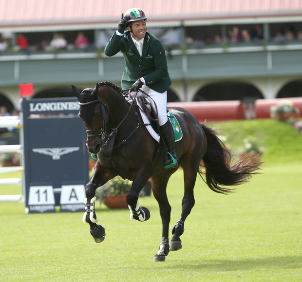 Former Olympic medalist Cian O'Connor said that his business sold 22 showjumping horses in 2016 – with €2.3m paid for the most expensive horse
