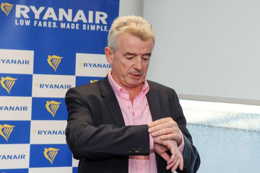 New Year's predictions: Ryanair chief executive Michael O'Leary might have something to announce this time next year. Photo: Bloomberg