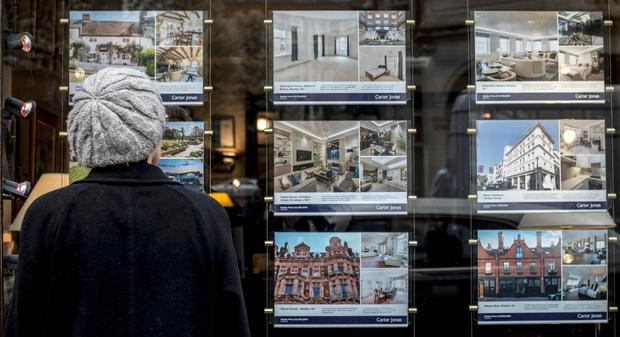 House prices in London fell