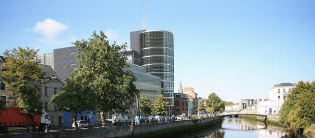 The proposed 193-bedroom hotel that's planned for Cork city