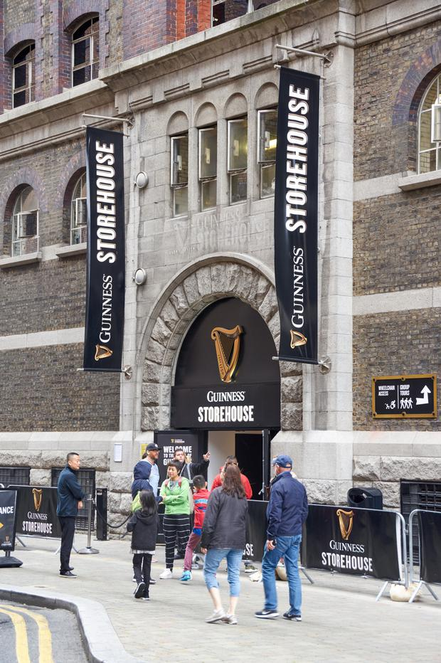 The Guinness Storehouse set new records.