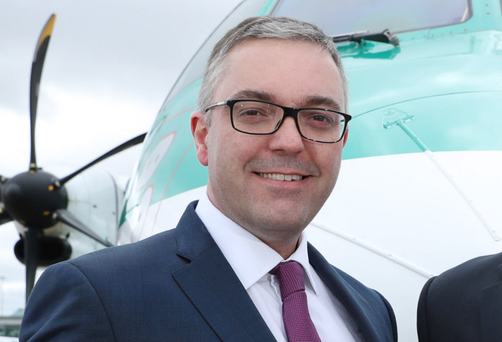 Stobart Air managing director Graeme Buchanan