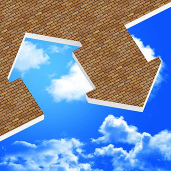 Despite widespread evidence of a remarkable recovery driven by FDI, low interest rates and oil prices, the housing crisis has the capacity to drag it down (stock picture)