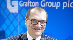 CEO Gavin Slark said that Grafton Group's market-led merchanting business in Ireland continues to perform well, 'in a favourable eoonomic and construction market'