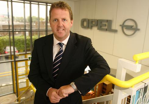 Dave Sheeran, Opel Ireland