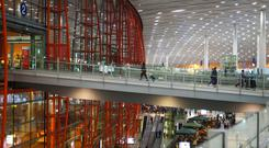 Beijing's Capital Airport, which is part of the new scheme for travellers