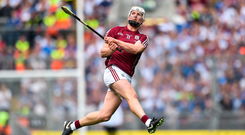 Galway hurler Joe Canning is one of the rising stars of the Irish Sponsorship Industry Survey. Photo: Sportsfile