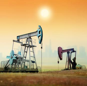 The price of Brent crude fell from $113 a barrel in June 2014 to just $26 by January 2016. Since then oil prices have been gradually recovering with Brent trading at $70 last week. Stock image