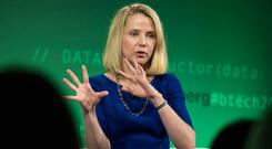 Ex-Yahoo boss Marissa Mayer faced criticism when she took maternity leave. Photo: Bloomberg