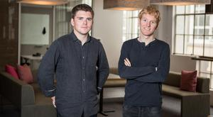 John and Patrick Collison of Stripe. Photo: www.pictureandcinema.com