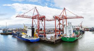 Cargo volumes rose 4.3pc to 36.4m gross tonnes in 2017
