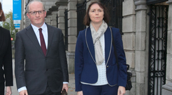 The Central Bank's Philip Lane and Sharon Donnery