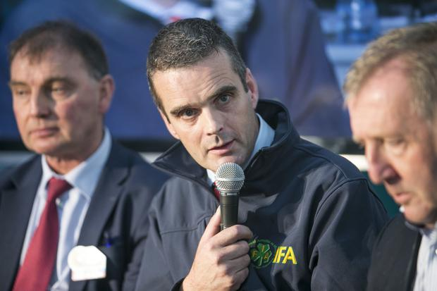 IFA president Joe Healy said that farmers should not be forgotten as the economy improves after agriculture 'saved the country'