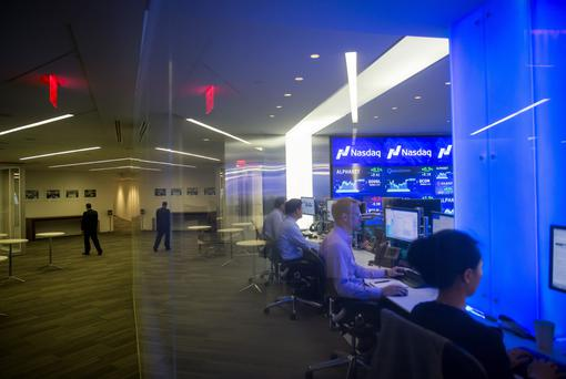Angel investors such as Peter Cowley and Christopher Mirabile are looking for the next startup that's Nasdaq material. Picture: Bloomberg