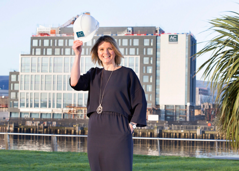 Lisa Steele, general manager of the AC Hotel by Marriott in Belfast, which opens this spring.