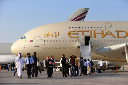 UAE carrier Etihad pursued a strategy of strategic investments. Photo: Bloomberg