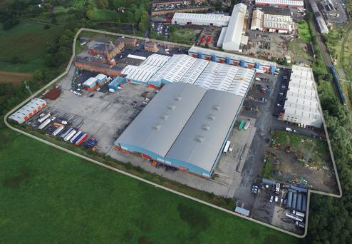 An aerial view of Brewery Business Park in Dundalk