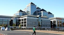 Ulster Bank's offices in Dublin, where the big question for the future is how to increase profitability