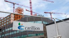 The UK construction giant collapsed after failing to secure a UK government bailout as its debts mounted Photo: Bloomberg