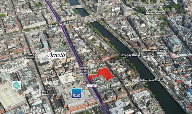 Pat Crean's Marlet paid €22m – or more than €25m per acre – for a 0.87 acre site behind the former Zanzibar pub in Dublin