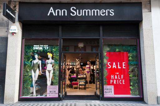 Ann Summers has boosted sales by opening a fifth store