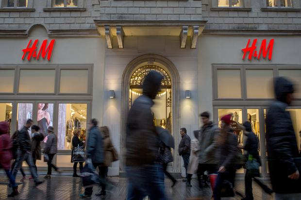Investors gave a thumbs-down to fashion giant Hennes & Mauritz's (H&M) turnaround plan, which includes the biggest store-closure program in at least a decade and the creation of a new format to supplement the Swedish clothing company's stumbling main chain. Photo: Getty