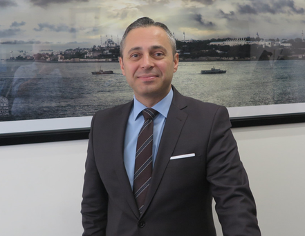 Hasan Mutlu, general manager of Turkish Airlines in Ireland, at the carrier's Dublin Airport offices