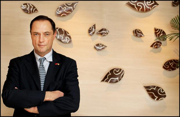 Richard Barrett of Bartra Capital Group now spends much of his time in Shanghai