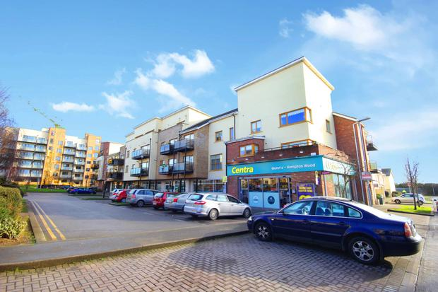 Three retail units at Hampton Wood in Finglas are guiding a price of ¤1.95m