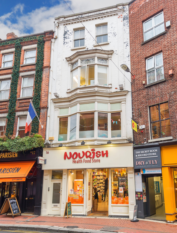 No 16 Wicklow St has a strong tenant covenant