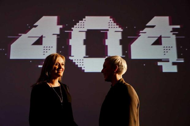 Pictured at 404 London this weekend were Barbara McCarthy (left), Director of Engineering at HubSpot, and Jackie Slattery (right), co-founder of 404. Hundreds attended the London event, which saw leading tech employers showcasing the career opportunities they have on offer in their Irish sites. Photo: Doruk Yemenici.