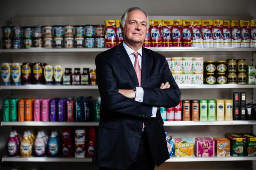 Unilever CEO Paul Polman whose company is one of the world's biggest spenders on adverts