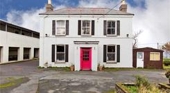 Franshaw House at actor Gabriel Byrne's former alma mater, Ard Scoil Eanna, in Crumlin, Dublin 12. Both the house and school will be offered for auction in one lot on March 8