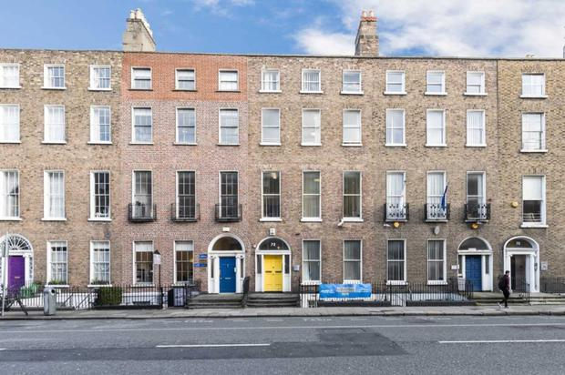 72 Lower Leeson Street is for sale with vacant possession