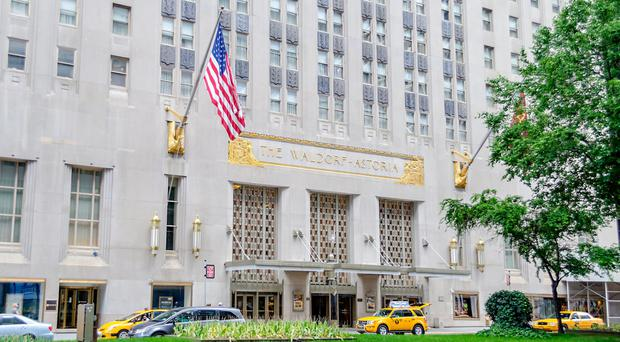 Iconic Waldorf Astoria in Blackstone's sights again