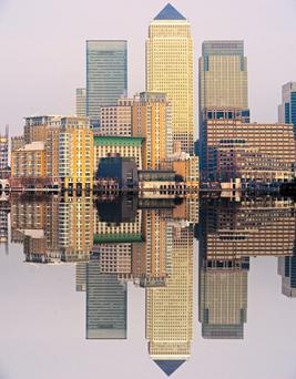 Troubled Chinese conglomerate HNA is unlikely to recoup the ¤413m it paid for the two London buildings in Canary Wharf