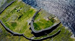 The Aran Islands are to take part in an EU study into the viability of producing hydrogen through renewable energy