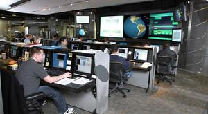Staff at one of Symantec's security centres