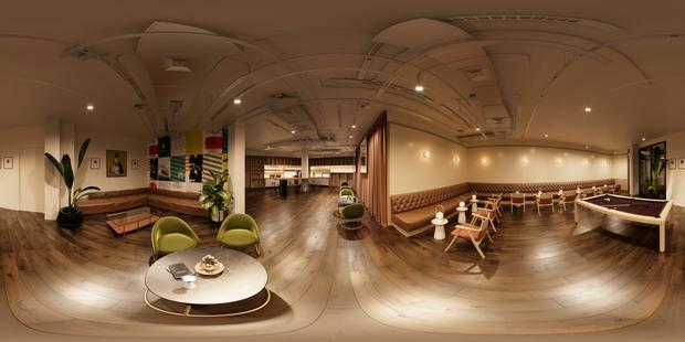 An artist's impression of WeWork's first Dublin offices at Iveagh Court,