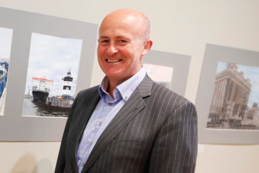 Dublin Port CEO Eamonn O'Reilly. Photo: Conor McCabe