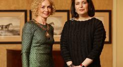 Dublin Chamber president Anne O'Leary and Francesca McDonagh, CEO, Bank of Ireland
