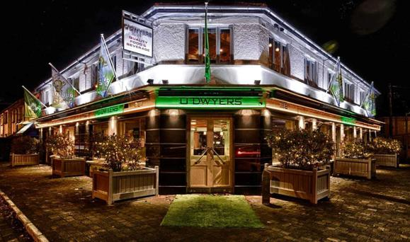The landmark O'Dwyers pub and restaurant is located in the affluent south Dublin suburb of Stillorgan