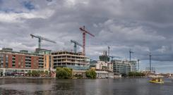 Green Reit CEO Pat Gunne has downplayed concerns of a bubble in the Dublin office market