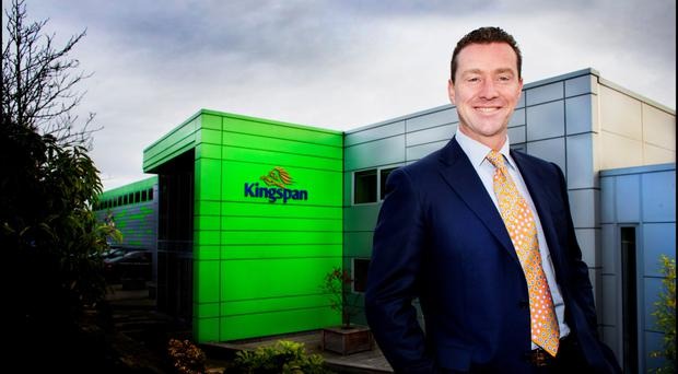 Overall revenues jumped 18pc to €3.7bn at Kingspan, led by CEO Gene Murtagh