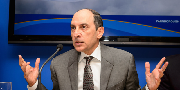 Akbar Al Baker says the airline is interested in helping pioneer next-generation supersonic flight as it battles for market share with its regional rivals