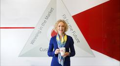 Vodafone CEO Anne O'Leary. Picture by David Conachy