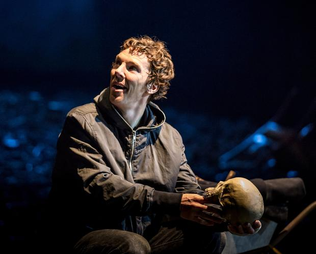 Benedict Cumberbatch as Hamlet – Polonius may have exhorted the prince to 'Neither a borrower nor a lender be', but the rest of us will have had to deal with debt at some stage. Photo: Johan Persson