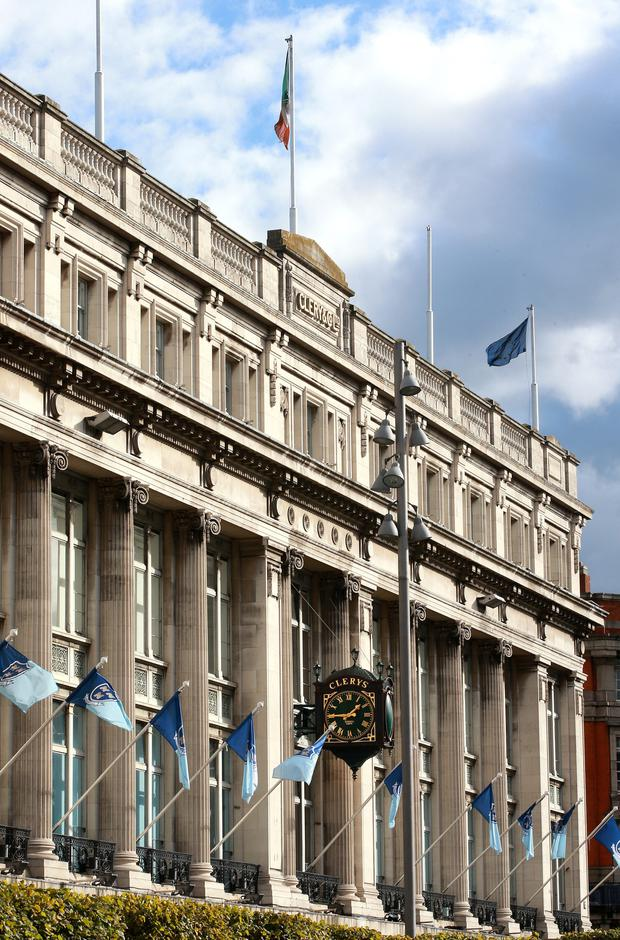 Developer and Press Up Entertainment chief Paddy McKillen Jr is in negotiations to acquire the Clerys premises on O'Connell Street from businesswoman Deirdre Foley's Natrium consortium for a figure of over €60m. Photo: INM